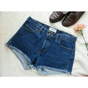 American apparel cutoff denim shorts 28